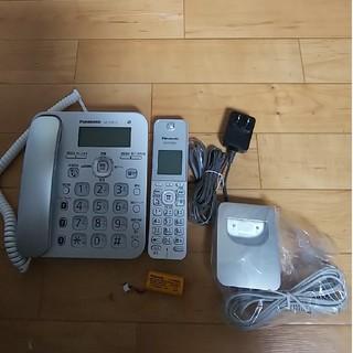パナソニック(Panasonic)のパナソニックコードレス電話機(電話台/ファックス台)