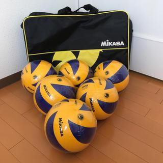 MIKASA - 新品未使用 ミカサ バレーボール 4号球 MVA400 6球セットおまけバッグ付