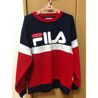 フィラ(FILA)のFILA スウェット レディース トレーナー サイズL(トレーナー/スウェット)