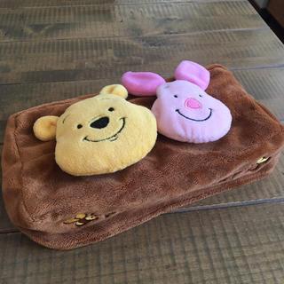 ディズニー(Disney)のティシュカバー  プーさん&ピグレット(ティッシュボックス)