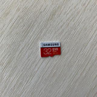 SAMSUNG - Micro card 32G