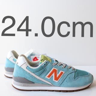 ニューバランス(New Balance)の新品 ニューバランス CM996 URB ブルーオレンジ 24.0cm(スニーカー)