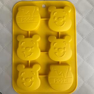 クマノプーサン(くまのプーさん)の【ディズニー】プーさん ケーキ型 シリコンモールド(調理道具/製菓道具)