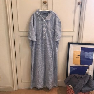 POLO RALPH LAUREN - 最終価格💓RALPHLAURENボーダー刺繍ポロシャツjantiques古着