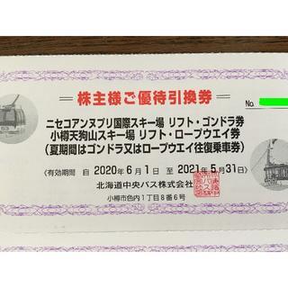 ニセコアンプリ国際スキー場リフトゴンドラ8時間券1枚3100円(スキー場)