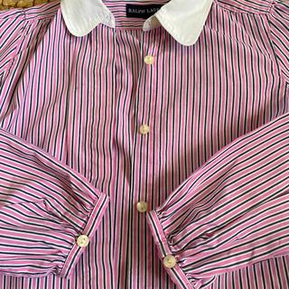 Ralph Lauren - ラルフローレン 130センチ 丸襟 シャツ ブラウス トップス お出かけ 長袖