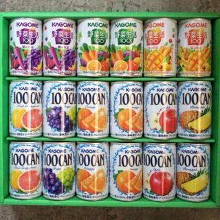 カゴメ(KAGOME)のカゴメ フルーツ+野菜飲料ギフト 詰め合わせジュース 18個入り(その他)
