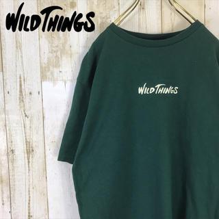 ワイルドシングス(WILDTHINGS)のWILD THINGS ワイルドシングス Tシャツ カットソー 刺繍ロゴ(Tシャツ/カットソー(半袖/袖なし))