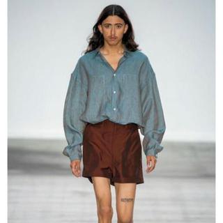 ジルサンダー(Jil Sander)のE.TAUTZ 20SS リネンシャツ L イートウツ 確実正規品(シャツ)