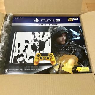 プレイステーション4(PlayStation4)のプレステ4 Pro 1TB デスストランディング リミテッド PS4(家庭用ゲーム機本体)