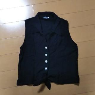 インディオ(indio)の【Indio】ノースリーブシャツ M(シャツ/ブラウス(半袖/袖なし))