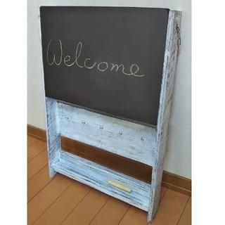 黒板 メッセージボード ウェルカムボード(インテリア雑貨)