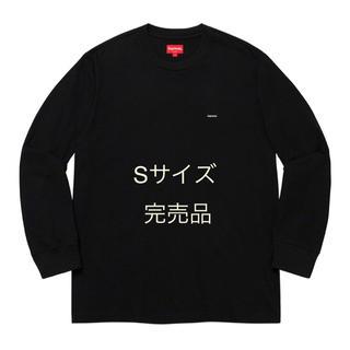 シュプリーム(Supreme)の20SS Supreme Small Box L/STee BLACK サイズS(Tシャツ/カットソー(七分/長袖))