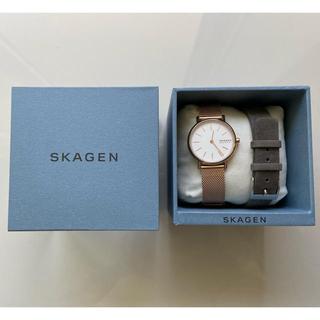 SKAGEN - 【販売は6月10日まで!】SKAGEN 美品 レディース腕時計 ウォッチ