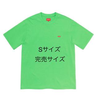 シュプリーム(Supreme)のSupreme Small Box Tee Bright green 20SS(Tシャツ/カットソー(半袖/袖なし))