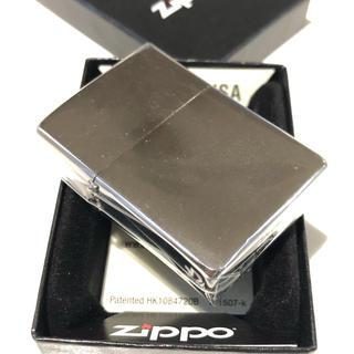 ジッポー(ZIPPO)の※おさかなチンパンジー様専用  zippo(ジッポ) クロームサテーナ ♯200(タバコグッズ)