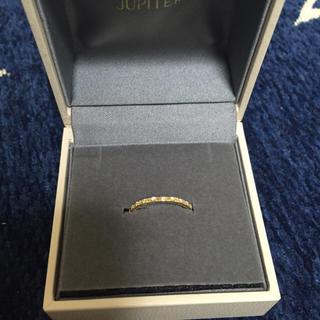 ジュピターゴールドレーベル(jupiter GOLD LABEL)のjupiter ダイアモンドダストリング(リング(指輪))