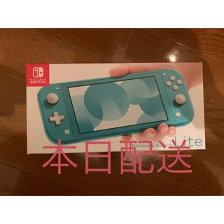 ニンテンドースイッチ(Nintendo Switch)の Nintendo Switch Lite ターコイズ ニンテンドースイッチ(携帯用ゲーム機本体)