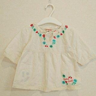 ティンカーベル(TINKERBELL)の90cm☆ティンカーベル☆刺繍(Tシャツ/カットソー)