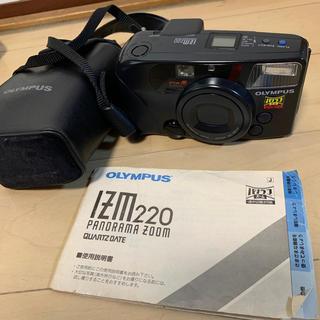 オリンパス(OLYMPUS)の最終お値下げ!オリンパス IZM220 フィルムカメラ(フィルムカメラ)