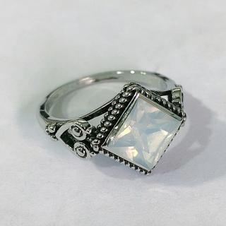 水晶 シンプル ジルコニア リング(リング(指輪))