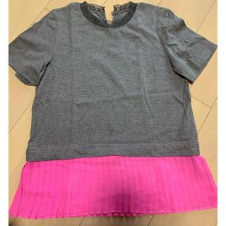 ドゥロワー(Drawer)のMUVEIL プリーツTシャツ(Tシャツ(半袖/袖なし))