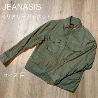 ジーナシス(JEANASIS)の【JEANASIS】ミリタリージャケット(ミリタリージャケット)
