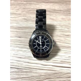 シャネル(CHANEL)のCHANEL シャネル j12  38m セラミック メンズ(腕時計(アナログ))