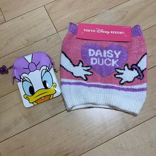 ディズニー(Disney)のデイジーダッグ 腹巻 パスポートケース(アンダーシャツ/防寒インナー)