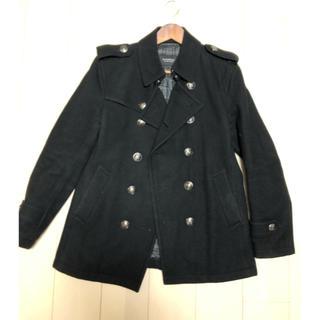 バーバリーブラックレーベル(BURBERRY BLACK LABEL)のバーバリー ブラックレーベル ナポレオン コート ジャケット(ピーコート)