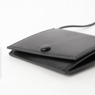 ビューティアンドユースユナイテッドアローズ(BEAUTY&YOUTH UNITED ARROWS)の【新品】紐付き ウォレット 黒(財布)
