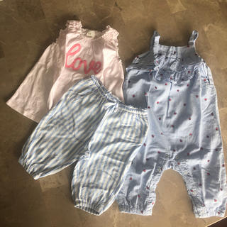 エイチアンドエイチ(H&H)のH & M  ベビー服 3点セット(Tシャツ)