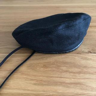 アーバンリサーチ(URBAN RESEARCH)のパイピングレザーベレー帽  新品未使用品(ハンチング/ベレー帽)