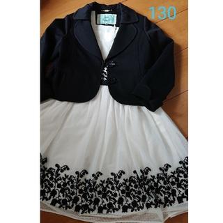 トッカ(TOCCA)のTOCCA 130 ドレス ワンピース 新品 美品 120(ドレス/フォーマル)