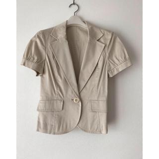 エニィスィス(anySiS)の再値下げ!  未使用 エニィスィス 半袖ジャケット(テーラードジャケット)