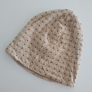 ケア帽子♡コットン100%(ニット帽/ビーニー)