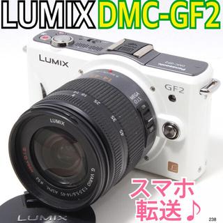 パナソニック(Panasonic)の✨らくらくスマホ転送♪ ✨ルミックス LUMIX DMC-GF2(ミラーレス一眼)