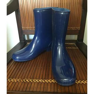 長靴 紺色 25cm(長靴/レインシューズ)