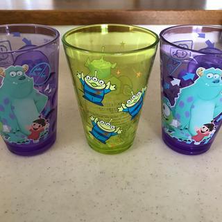 ディズニー(Disney)のモンスターズインクカップ3個セット(キャラクターグッズ)