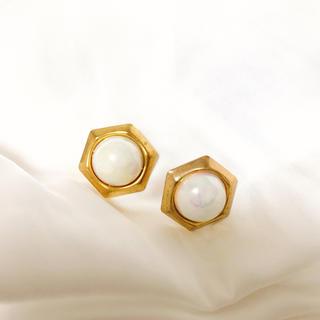 Ameri VINTAGE - french vintage pearl earring