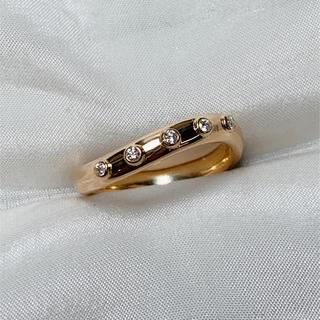 ポーラ(POLA)のポーラ k18 ダイヤモンド リング(リング(指輪))