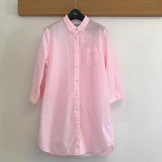 トゥモローランド(TOMORROWLAND)のイチミ ICHIMI FUNKY DUST -SHIRT- ピンク(ひざ丈ワンピース)