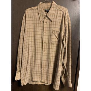 アレグリ(allegri)のAllegri ビンテージチェックシャツ Lサイズ 韓国(シャツ)