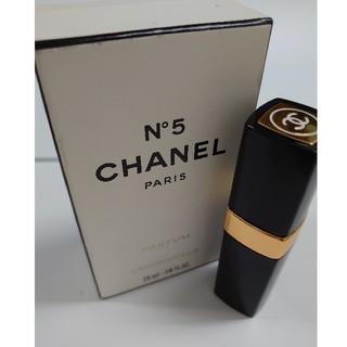 シャネル(CHANEL)のシャネル パフューム №5 7.5ml(香水(女性用))