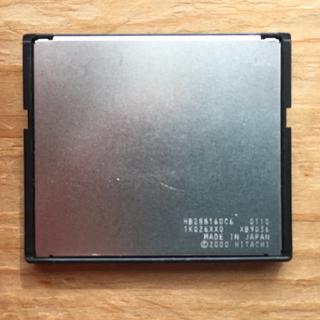 ヒタチ(日立)の日立製 160MB CFカード(PC周辺機器)