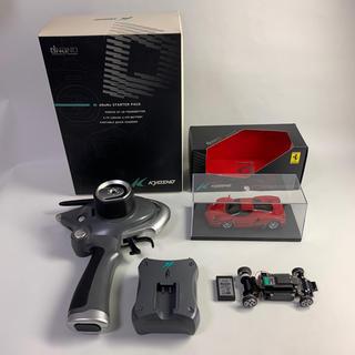 フェラーリ(Ferrari)の京商dnanoエンツォフェラーリシャシーセット+スターターパック(ホビーラジコン)