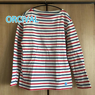 オーシバル(ORCIVAL)のORCIVAL オーチバル ボーダーカットソー バスクシャツ(Tシャツ/カットソー(七分/長袖))