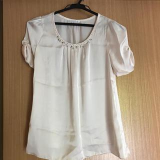 アールユー(RU)のクリスタルシルフ カットソー ブラウス(カットソー(半袖/袖なし))