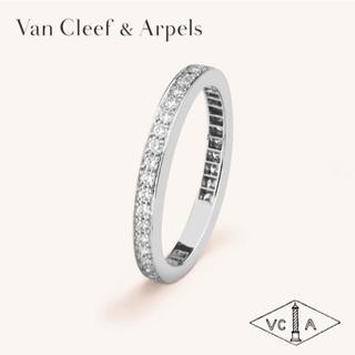 ヴァンクリーフアンドアーペル(Van Cleef & Arpels)のヴァンクリーフ&アーペル 指輪 ダイヤ ロマンスエタニティリング 7号(リング(指輪))