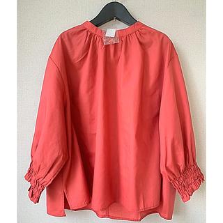 ブラウス  プルオーバー  トップス シャツ ゆったり 大きいサイズ 3L(シャツ/ブラウス(長袖/七分))